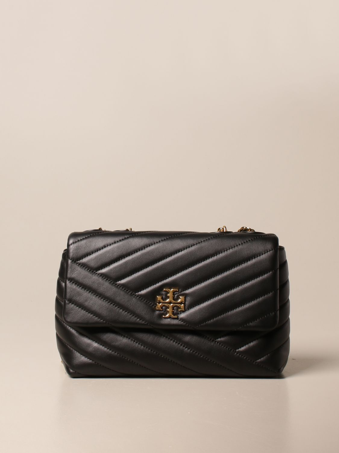 Crossbody bags Tory Burch: Kira Tory Burch bag in quilted leather black 1