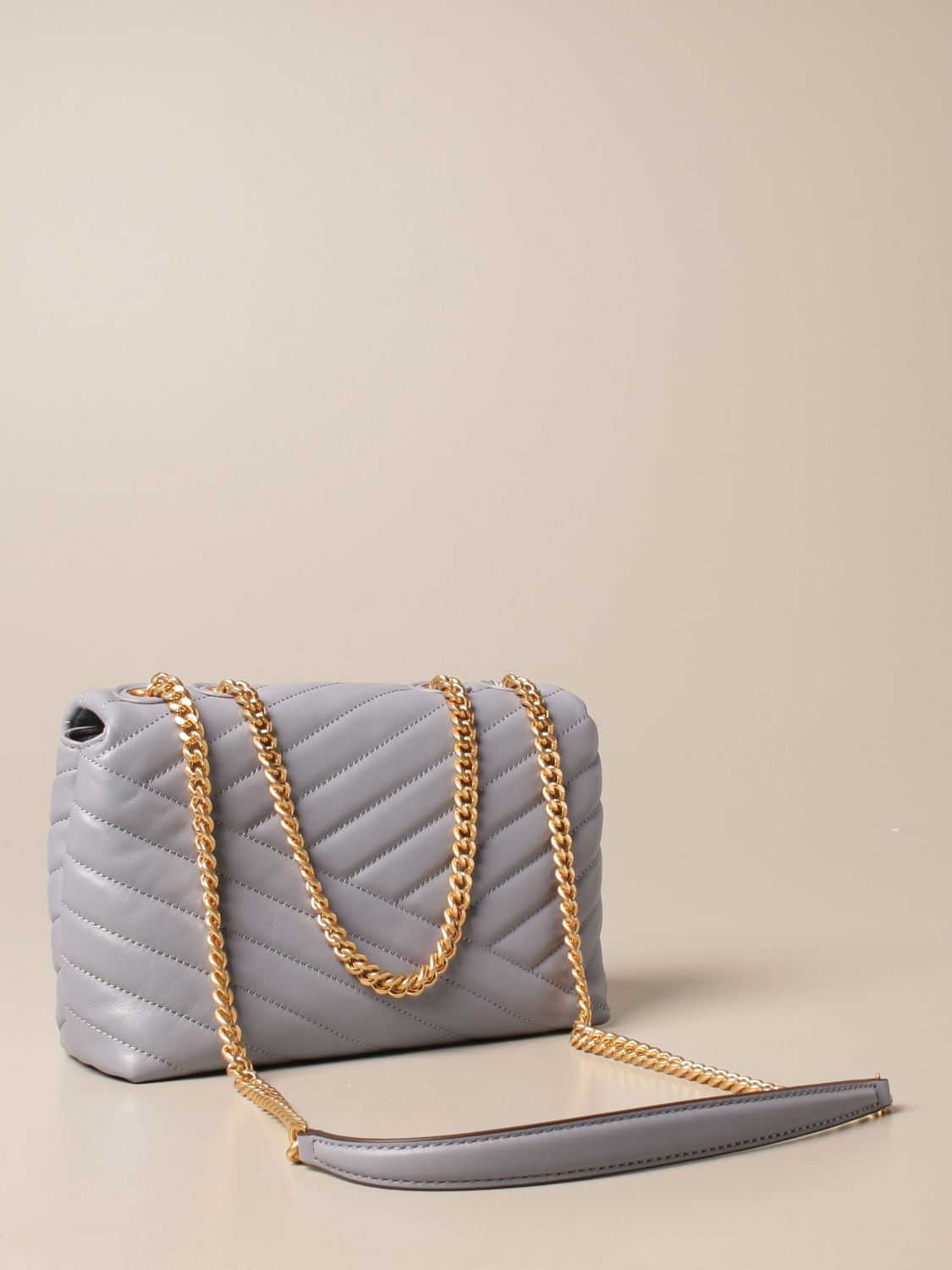 Crossbody bags Tory Burch: Kira Tory Burch bag in quilted leather dust 3