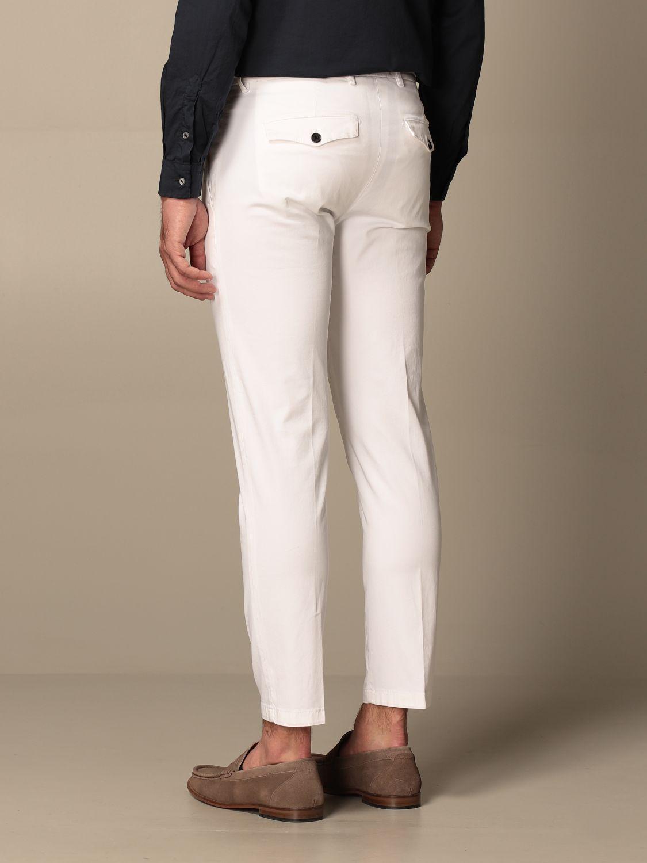 Pantalone Department 5: Pantalone Department Five in cotone bianco 2