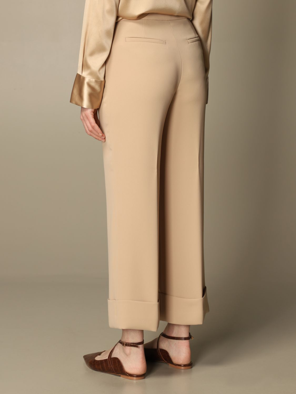 Pantalone Peserico: Pantalone classic Peserico ampio sabbia 2
