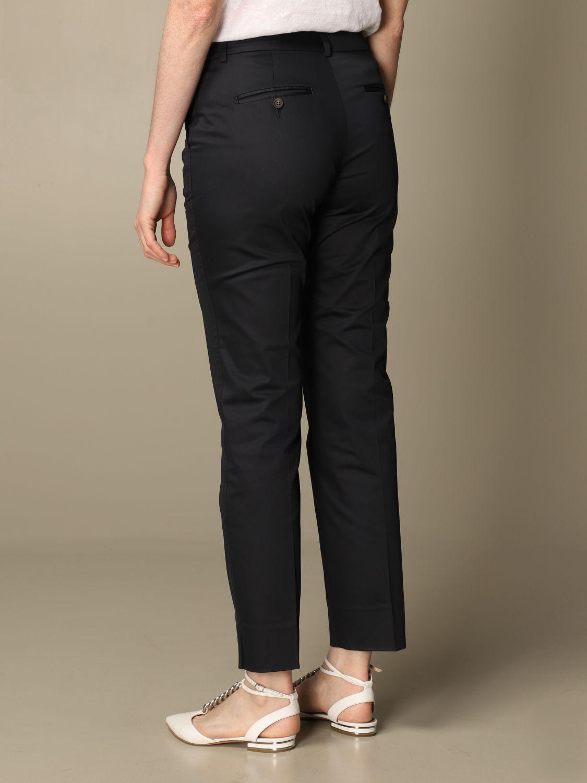 Pantalone Peserico: Pantalone slim Peserico in cotone blue 2