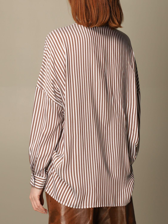 Camicia Peserico: Camicia Peserico in viscosa e seta a righe rigato 2