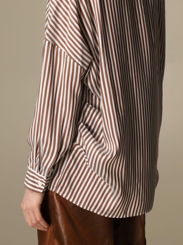 Camicia Peserico: Camicia Peserico in viscosa e seta a righe rigato 4