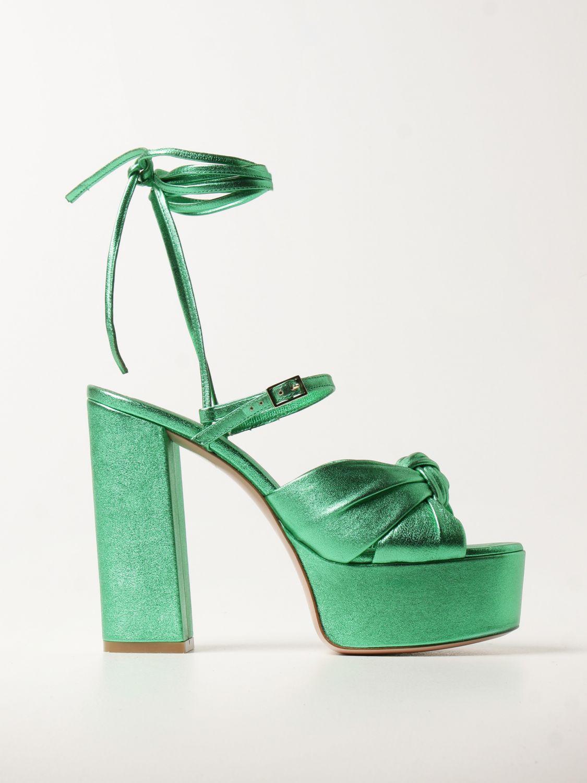 Heeled sandals Aldo Castagna: Shoes women Aldo Castagna green 1