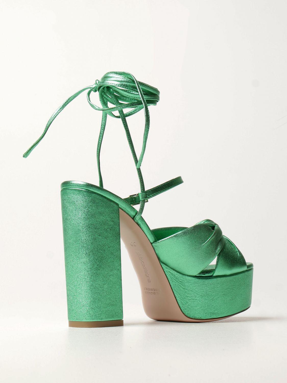 Heeled sandals Aldo Castagna: Shoes women Aldo Castagna green 3