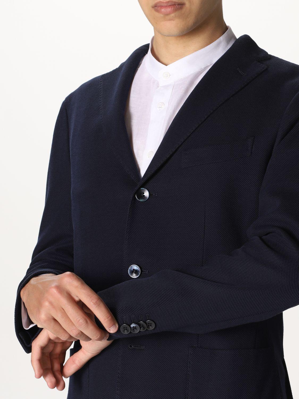 Blazer Boglioli: Jacket men Boglioli blue 4