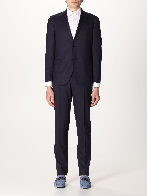 Suit Boglioli: Suit men Boglioli blue 1