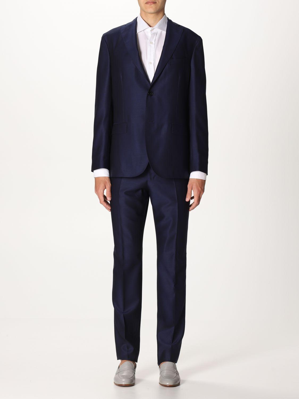 Suit Boglioli: Suit men Boglioli blue 1 1