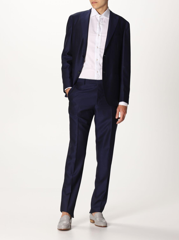 Suit Boglioli: Suit men Boglioli blue 1 2