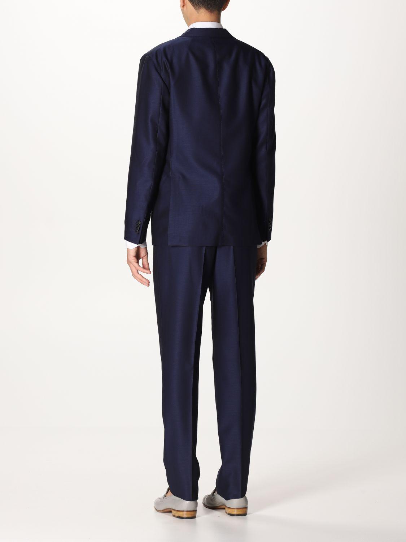 Suit Boglioli: Suit men Boglioli blue 1 3