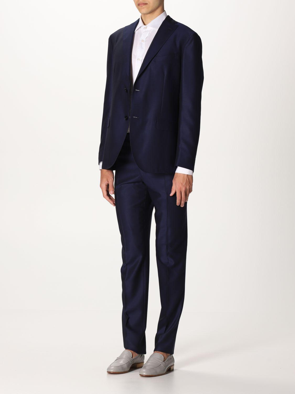 Suit Boglioli: Suit men Boglioli blue 1 4