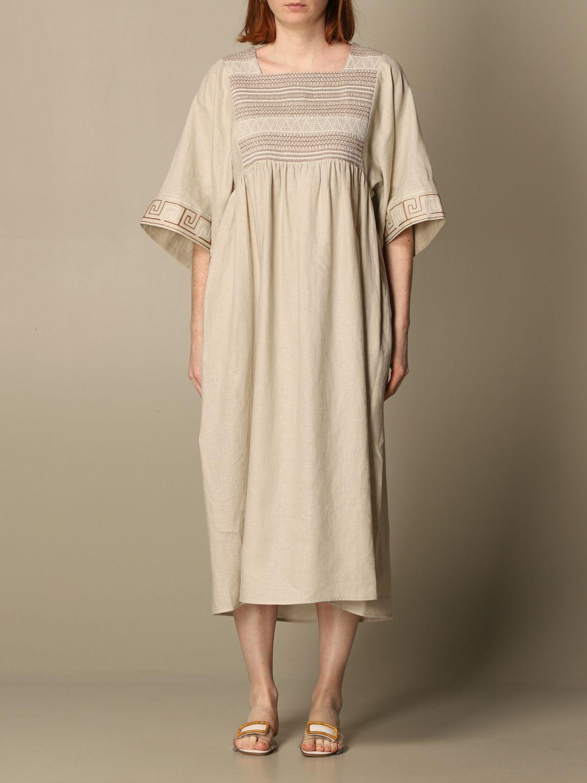 Dress Tory Burch: Tory Burch woman tunic beige 1