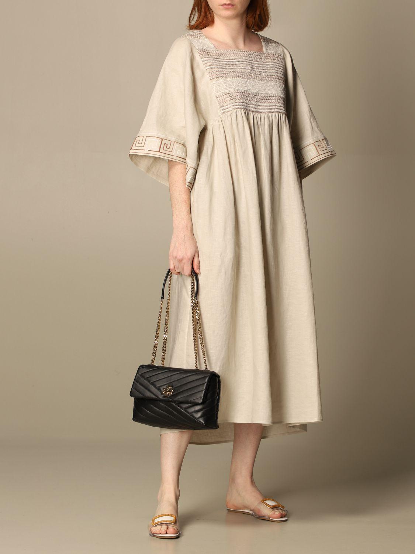 Dress Tory Burch: Tory Burch woman tunic beige 2