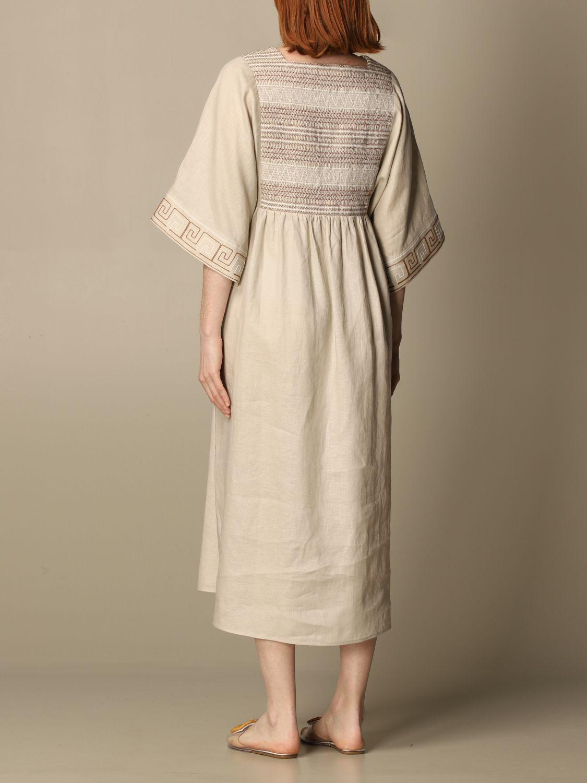 Dress Tory Burch: Tory Burch woman tunic beige 3