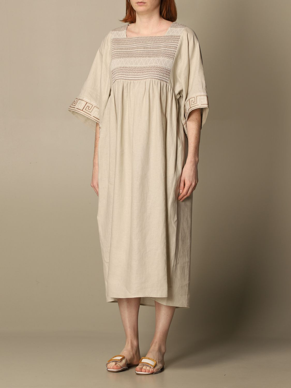 Dress Tory Burch: Tory Burch woman tunic beige 4