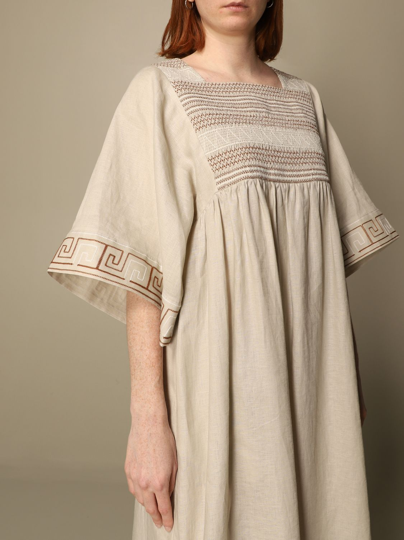 Dress Tory Burch: Tory Burch woman tunic beige 5