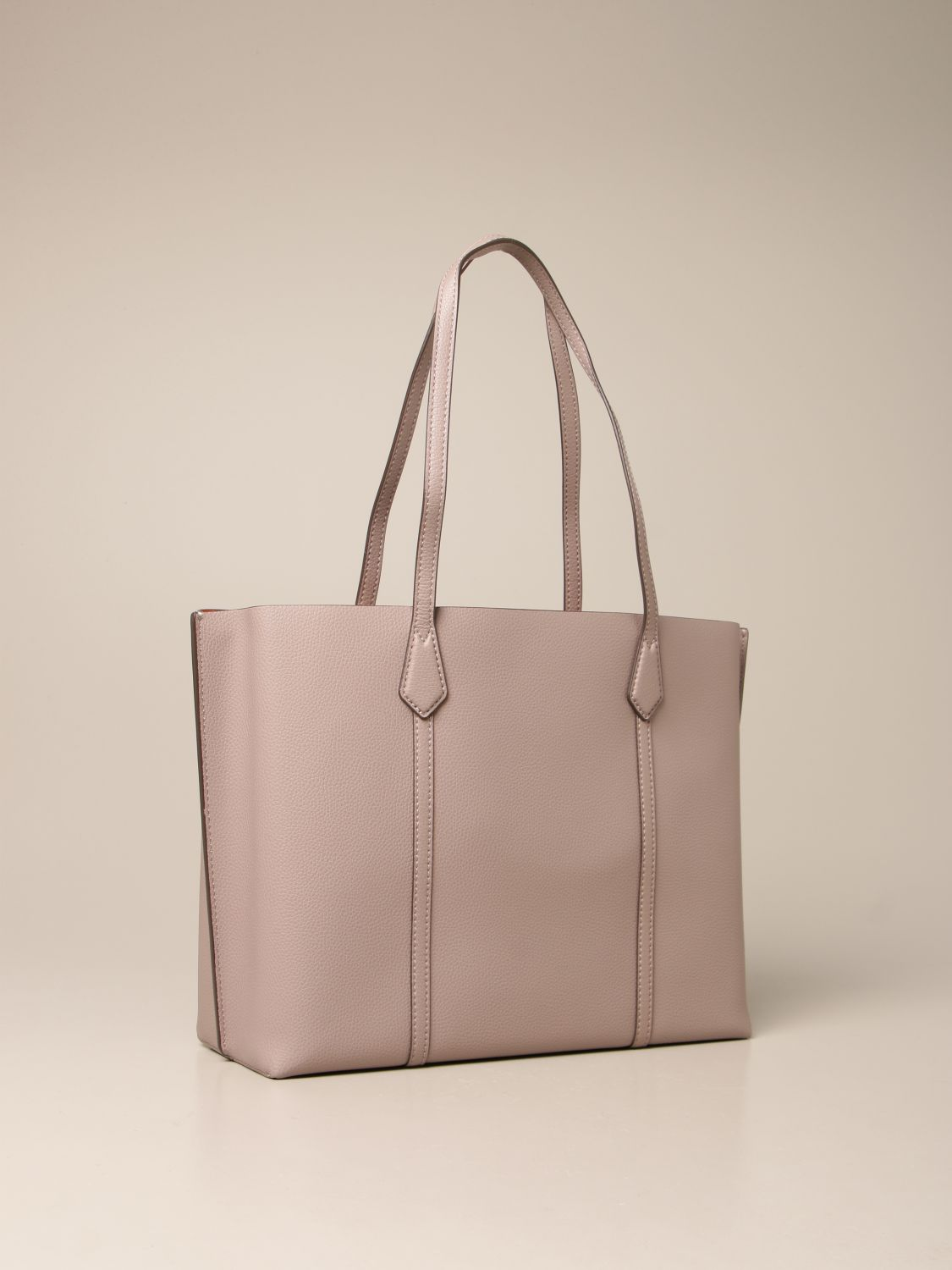 Handbag Tory Burch: Perry Tory Burch bag in textured leather grey 2