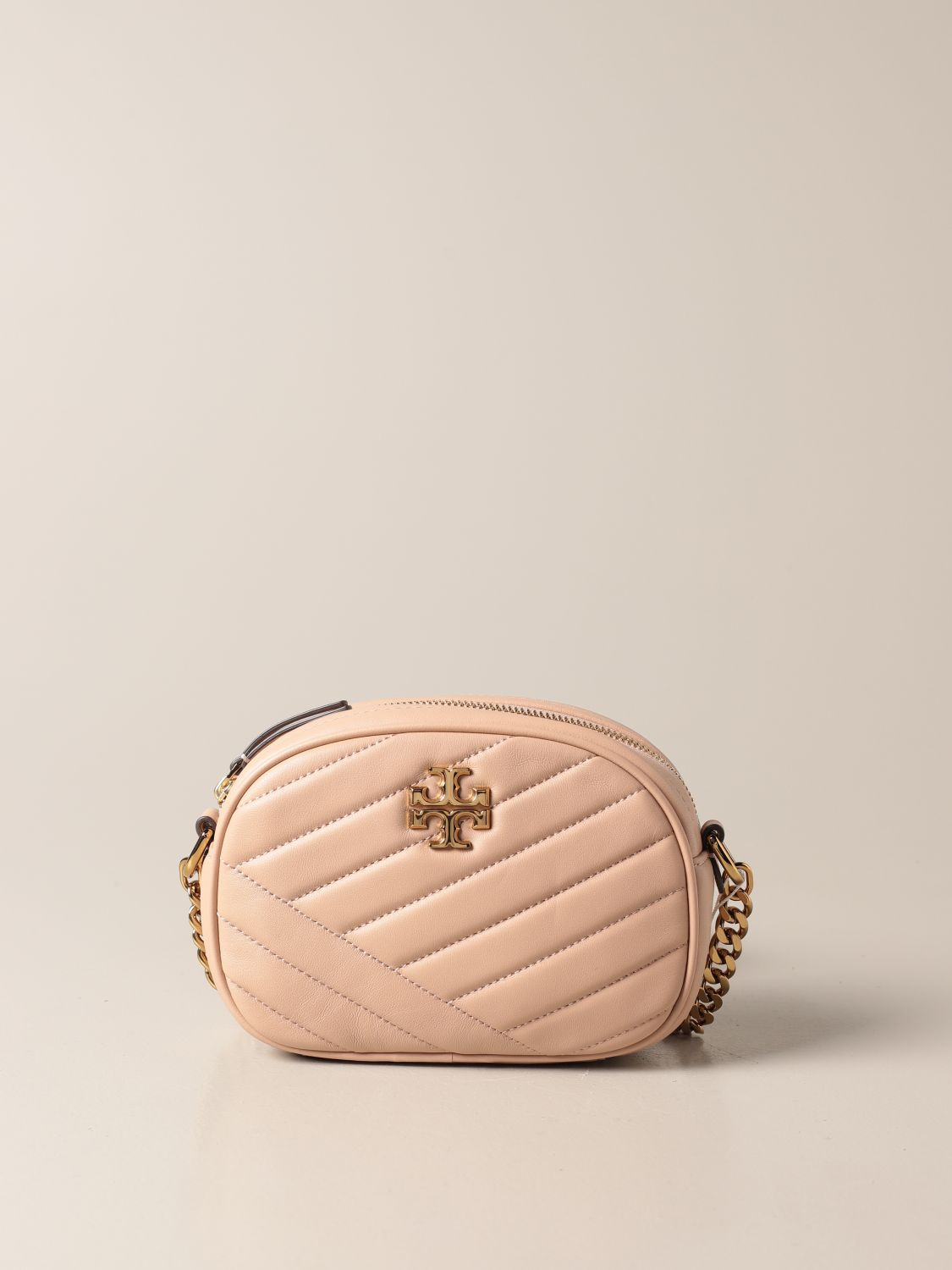 Crossbody bags Tory Burch: Kira Tory Burch bag in quilted leather sand 1