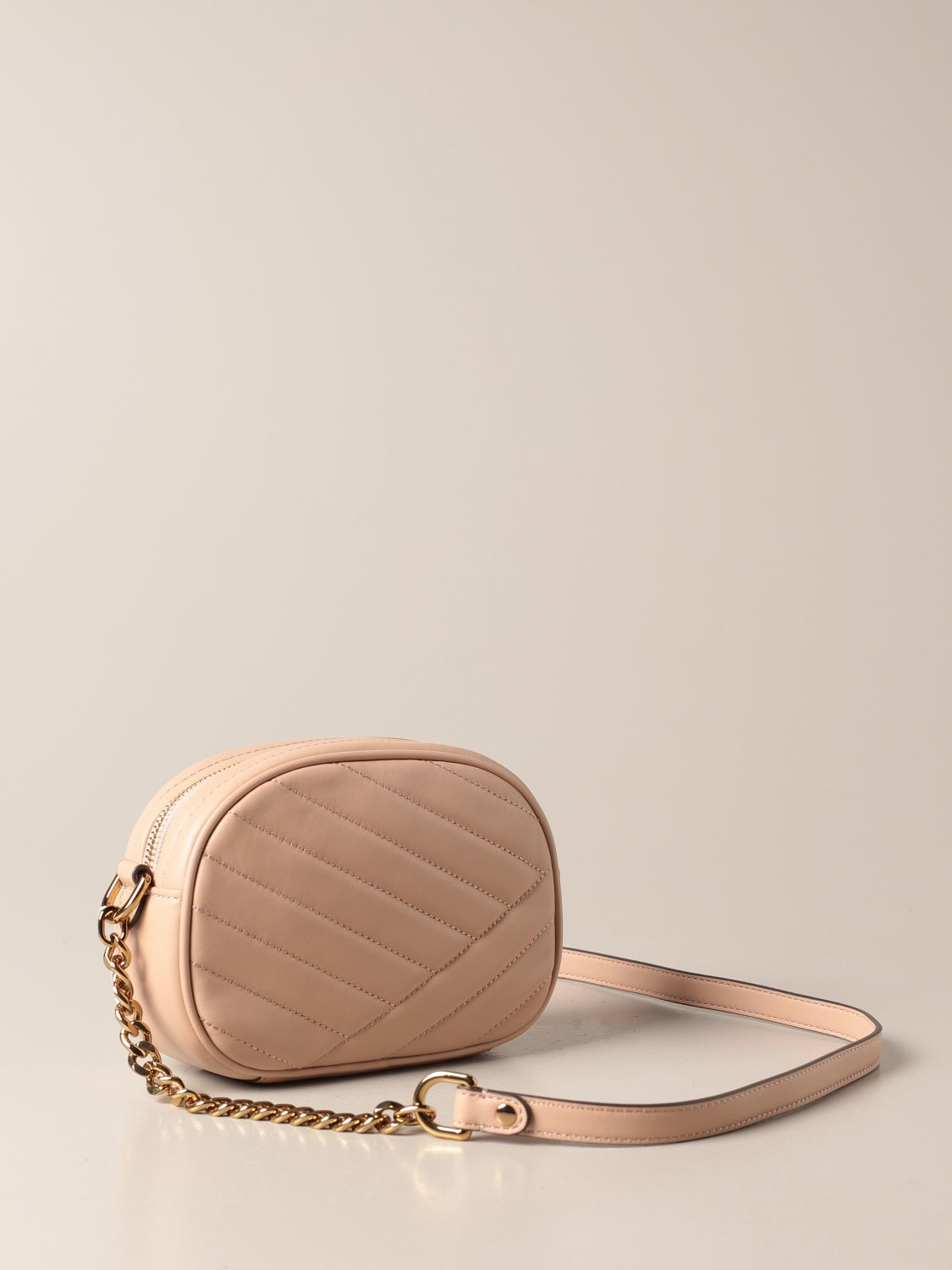 Crossbody bags Tory Burch: Kira Tory Burch bag in quilted leather sand 2