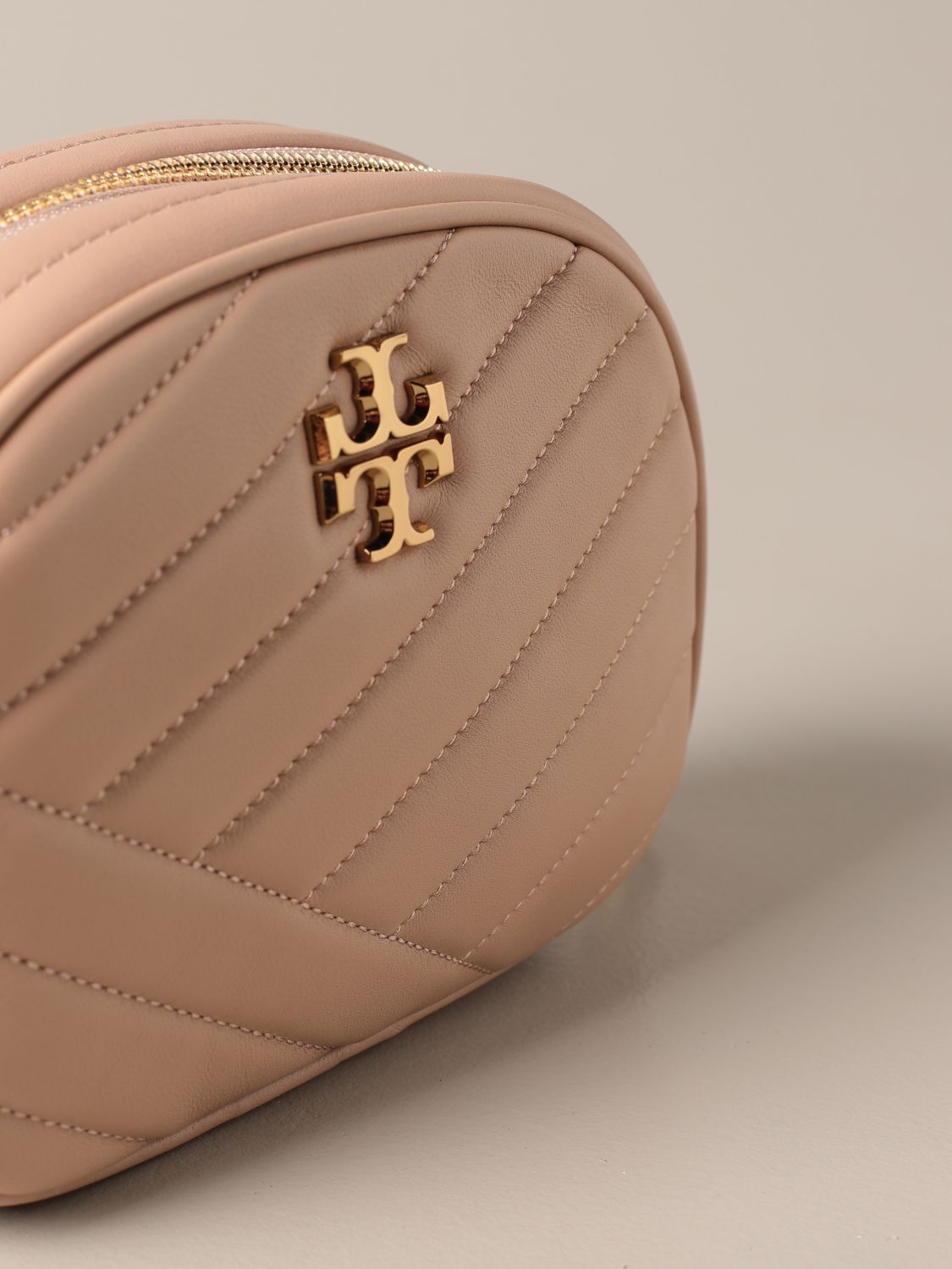 Crossbody bags Tory Burch: Kira Tory Burch bag in quilted leather sand 3