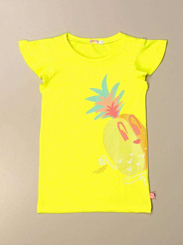 Vestido Billieblush: Vestido niños Billieblush amarillo 1