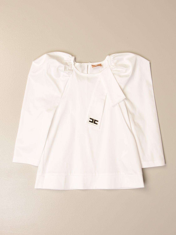 衬衫 Elisabetta Franchi: 衬衫 儿童 Elisabetta Franchi 象牙色 1