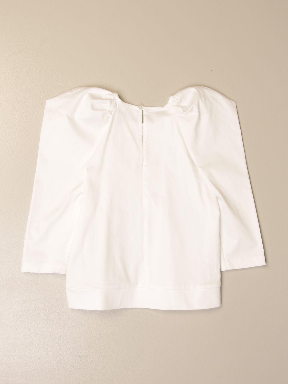 衬衫 Elisabetta Franchi: 衬衫 儿童 Elisabetta Franchi 象牙色 2