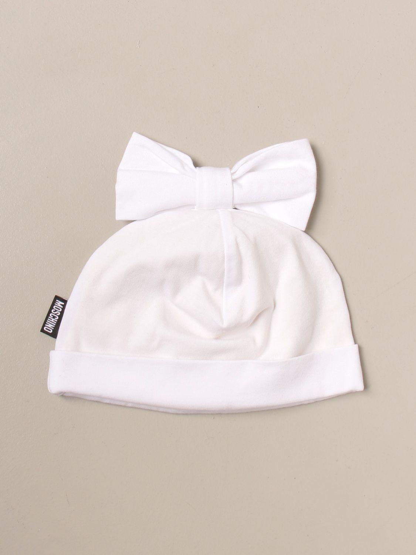 Gorros niña Moschino Baby: Gorros niña niños Moschino Baby blanco 1