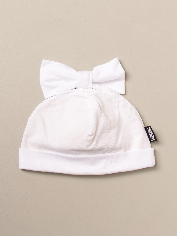 Gorros niña Moschino Baby: Gorros niña niños Moschino Baby blanco 2