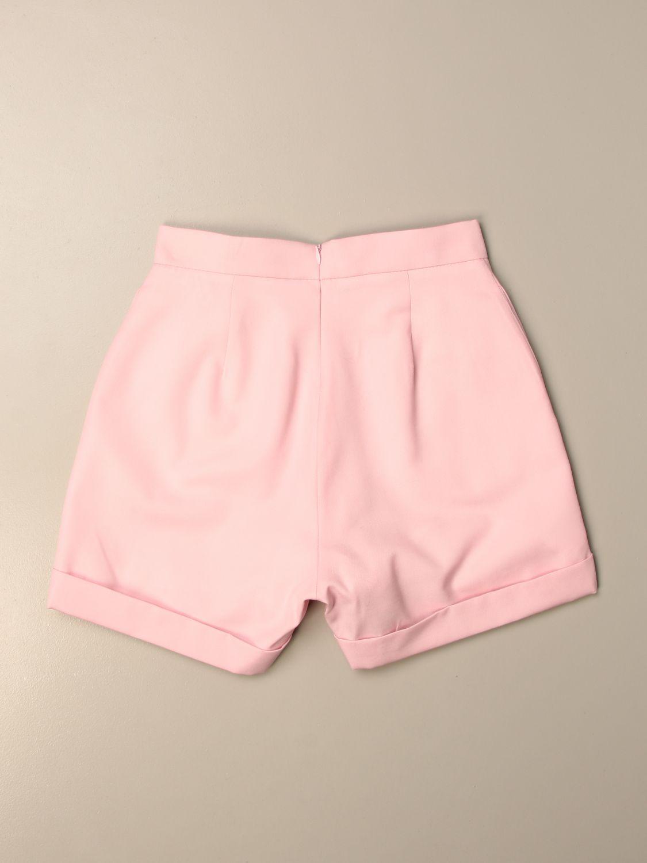 Pantalón Balmain: Pantalón niños Balmain rosa 2