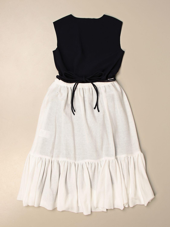 Kleid Il Gufo: Kleid kinder Il Gufo blau 2