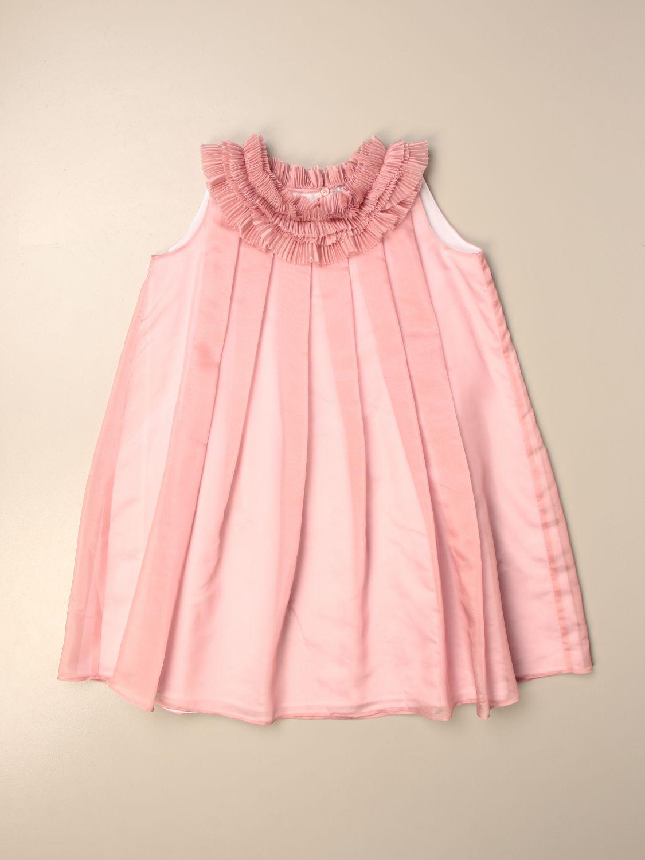 Robe Il Gufo: Robe enfant Il Gufo rose 1