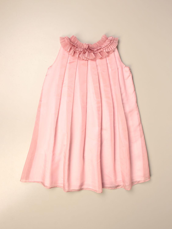 Robe Il Gufo: Robe enfant Il Gufo rose 2