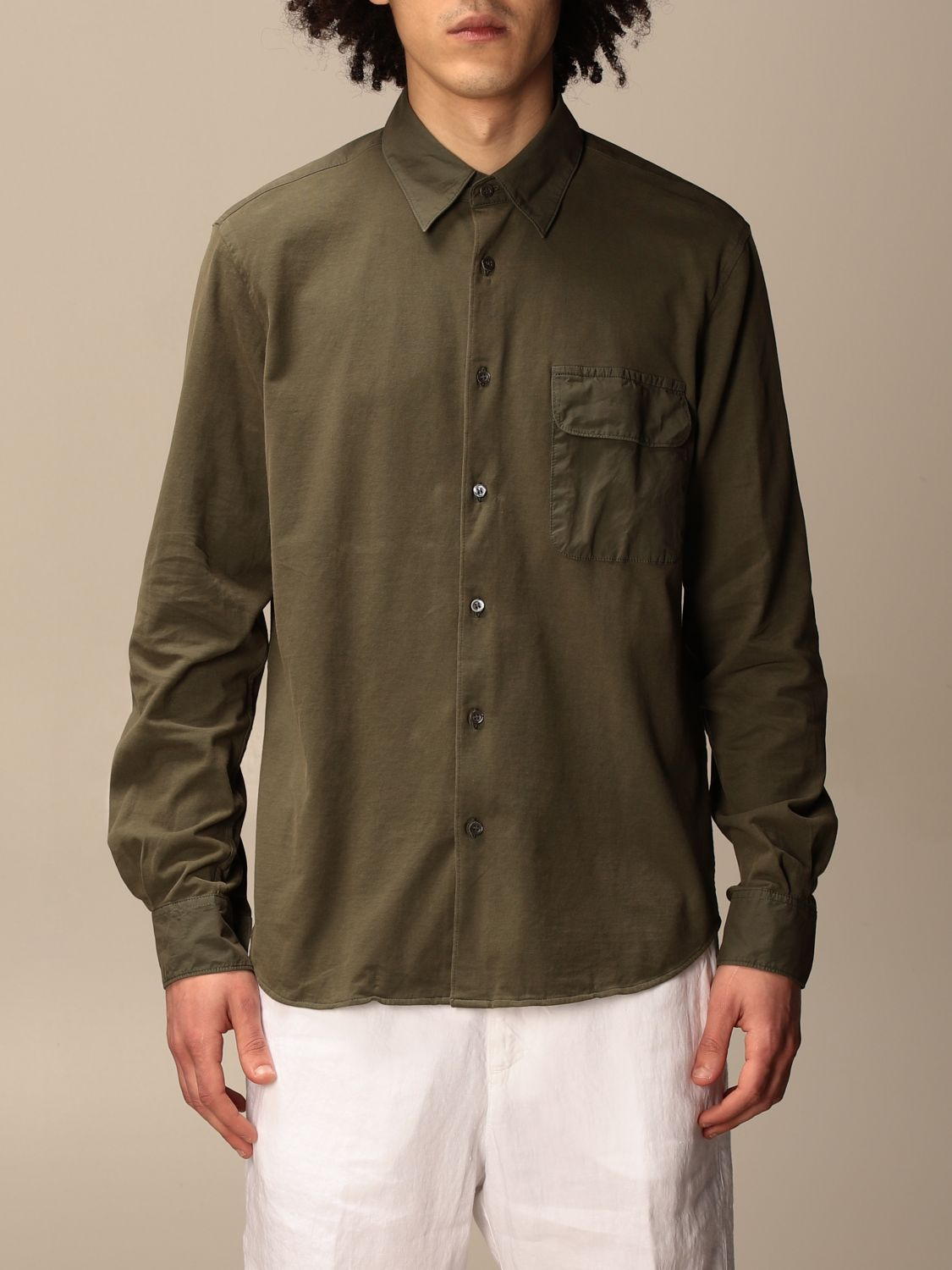 Shirt Aspesi: Shirt men Aspesi military 1