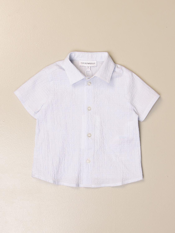 Chemise Emporio Armani: Chemise enfant Emporio Armani ciel 1