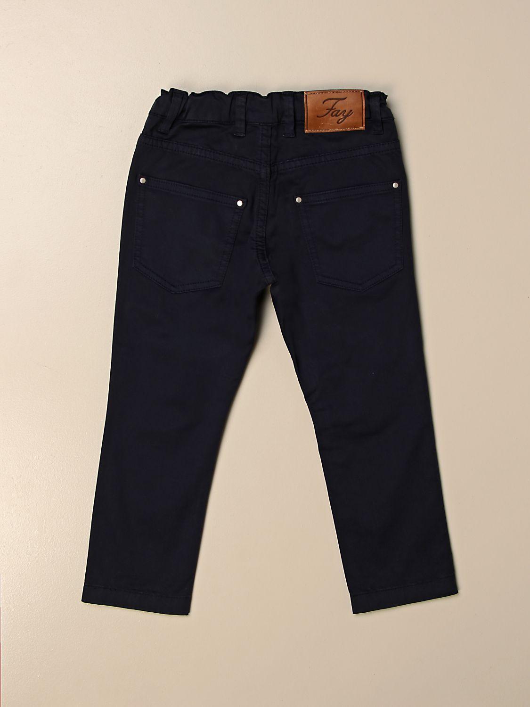 Pantalón Fay: Pantalón niños Fay azul oscuro 2