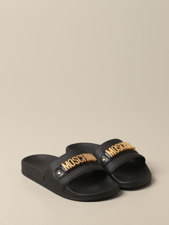 Zapatos Moschino Baby: Zapatos niños Moschino Baby negro 2