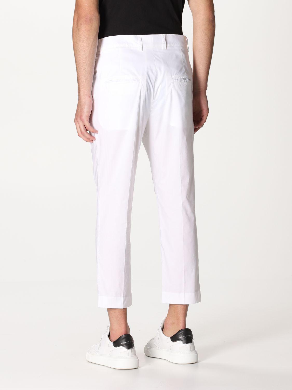 Pantalone Daniele Alessandrini: Pantalone Daniele Alessandrini con tasche a filo bianco 2