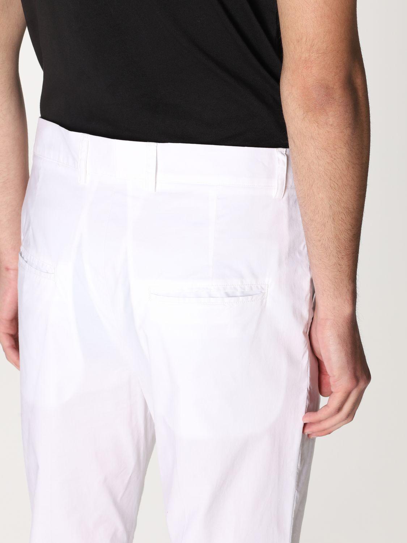 Pantalone Daniele Alessandrini: Pantalone Daniele Alessandrini con tasche a filo bianco 4
