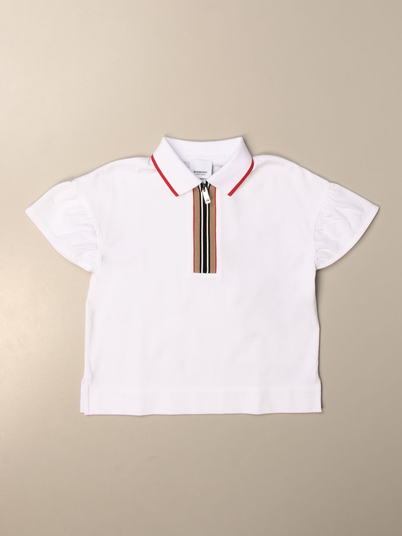 Camisetas Burberry: Camisetas niños Burberry blanco 1