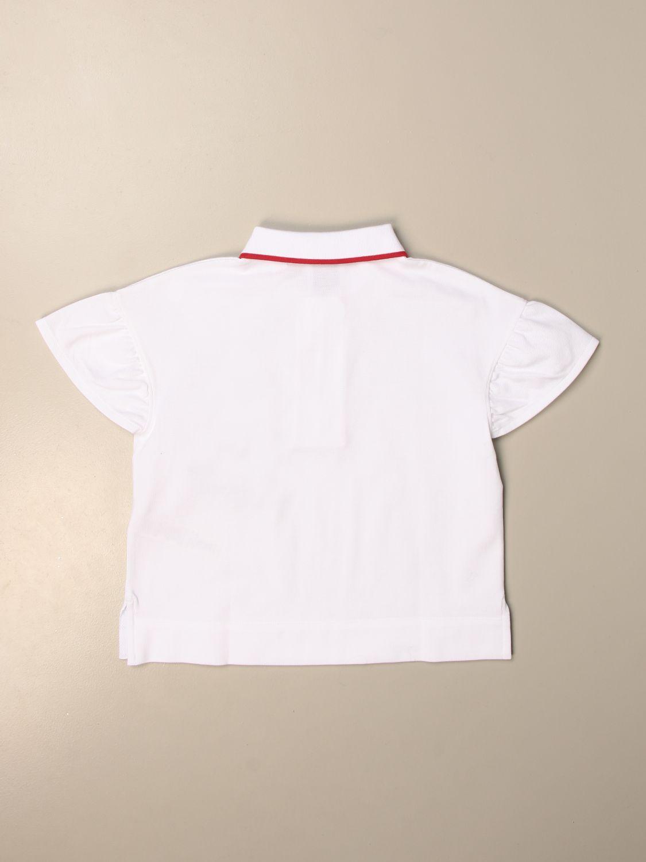 Camisetas Burberry: Camisetas niños Burberry blanco 2