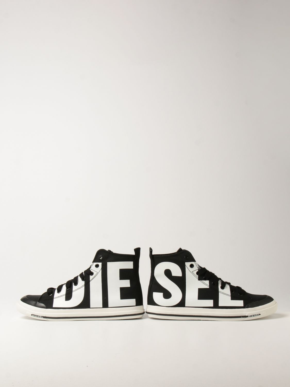 Zapatillas Diesel: Zapatillas hombre Diesel negro 4