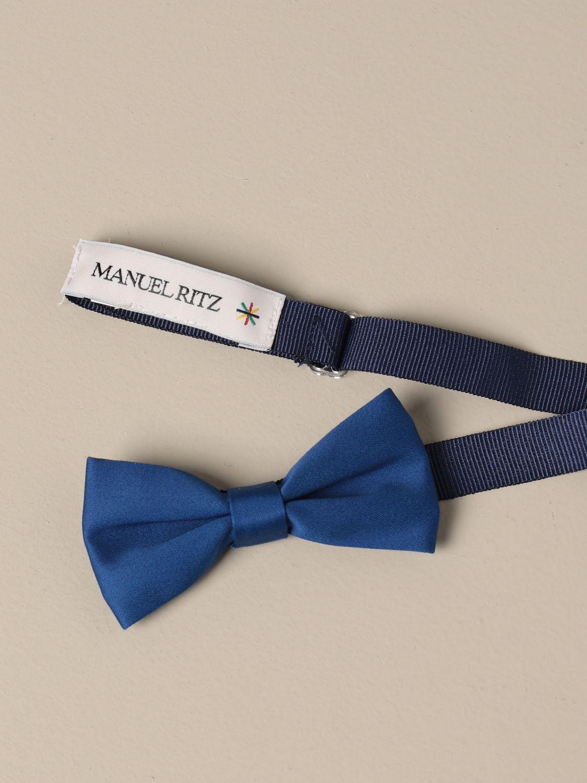 Bow tie Manuel Ritz: Bow tie kids Manuel Ritz blue 1 2