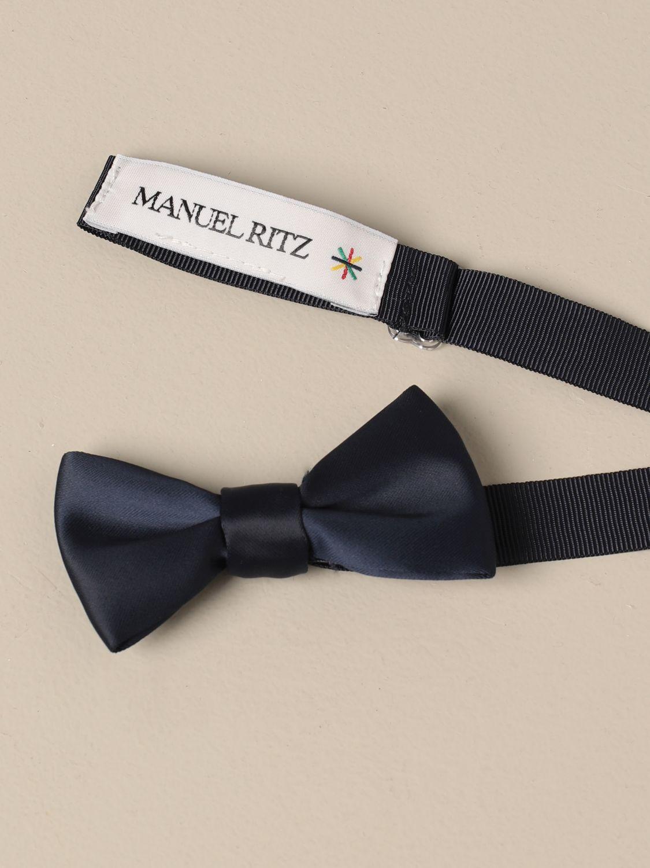 Bow tie Manuel Ritz: Bow tie kids Manuel Ritz blue 2