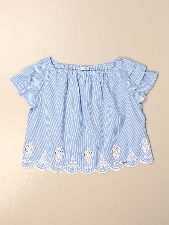 上衣 Liu Jo: T恤 儿童 Liu Jo 蓝色 1