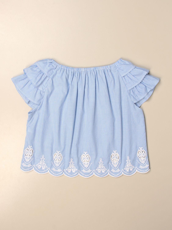 上衣 Liu Jo: T恤 儿童 Liu Jo 蓝色 2