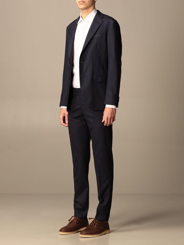 Suit Boglioli: Suit men Boglioli blue 4