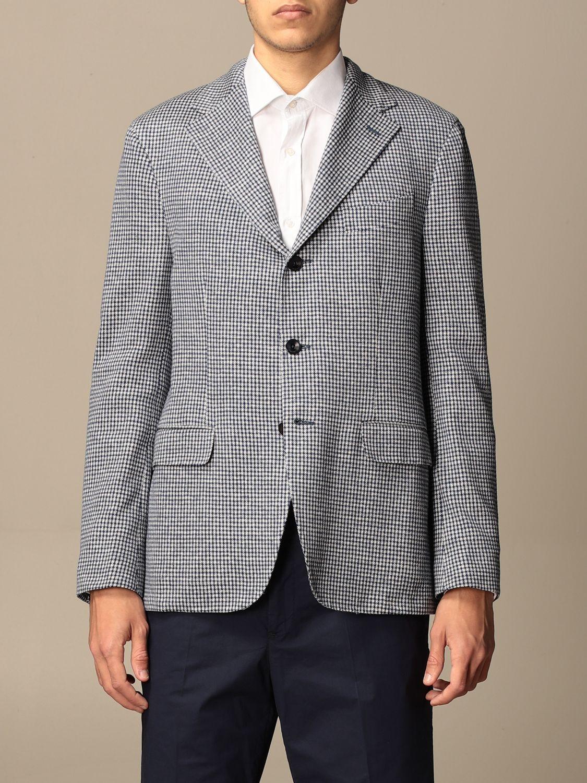 Blazer Boglioli: Jacket men Boglioli white 1