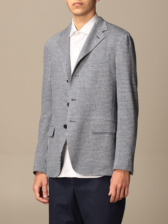 Blazer Boglioli: Jacket men Boglioli white 4