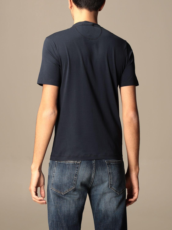 Camiseta Cruciani: Camiseta hombre Cruciani azul oscuro 2